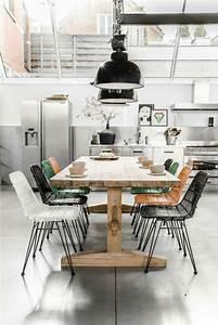 meubles salle a manger 65 idees avec l39eclairage With decoration jardin avec galets 11 couleur cuisine la cuisine blanche de style contemporain