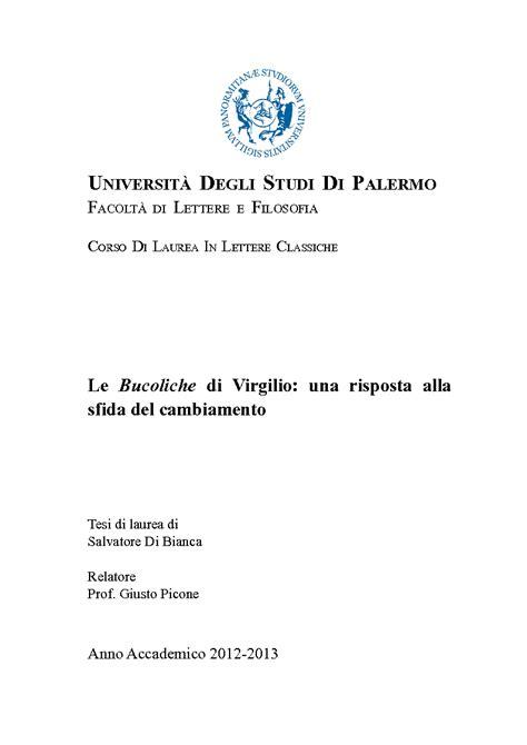laurea lettere classiche universit 192 degli studi di palermo facolt 192 di lettere e