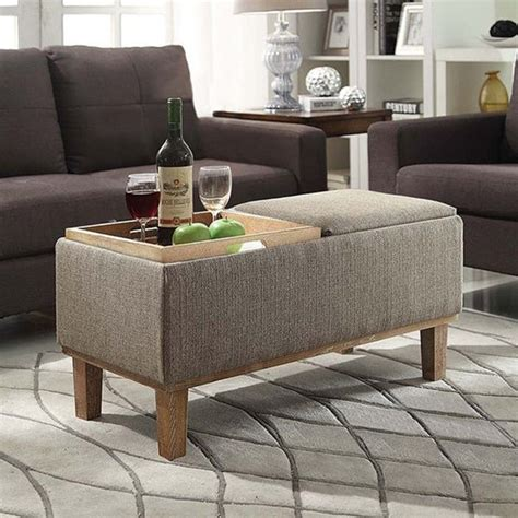 Using An Ottoman As A Coffee Table by 25 Best Ideas About Storage Ottoman Coffee Table On