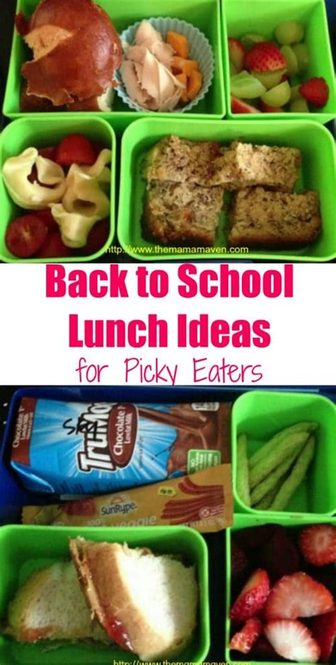 preschool lunch ideas for picky eaters back to school lunch ideas for ultra picky eaters 440