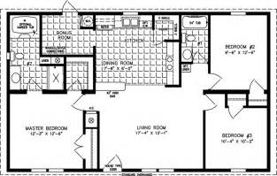 1000 sq ft house plans bedroom 1000 to 1199 sq ft manufactured home floor plans