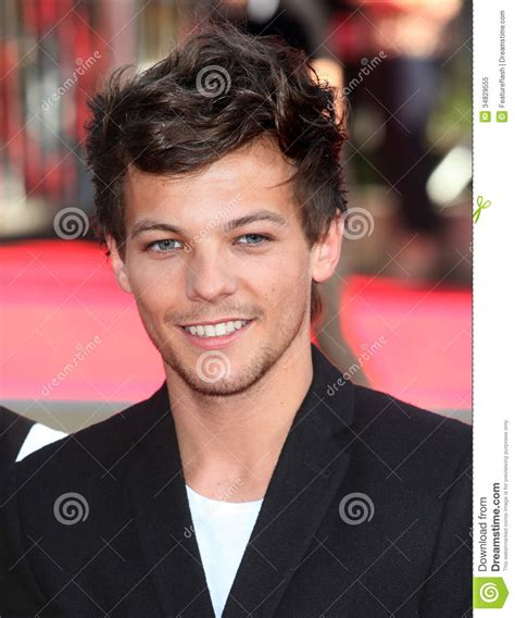 Louis Tomlinson,One Direction Editorial Image - Image