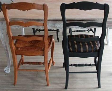 relooker chaise en paille relooking chaises avant après francine declerck