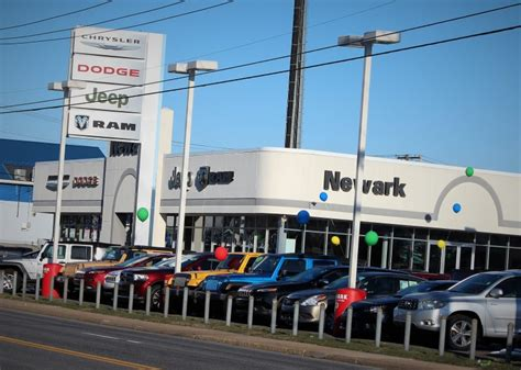 police investigating heist  newark dodge dealership