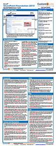 Free Sharepoint 2010 Quick Reference Card