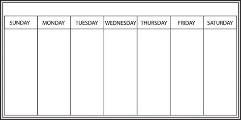 whiteboard weekly calendar decal window film world