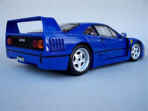 ferrari  stradale blau rfr sport burago modellauto