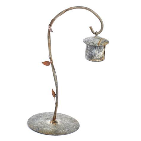 miniature rusty bird feeder with stand rusty decor