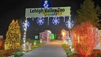lehigh valley zoo s winter light spectacular returns saturday the morning call