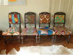 Print Covered Chairs By Blanche Dlys Designs Dining Room The Cheap Dining Room Table And Chairs Granado Home Design Dinettes Tables Kitchen Home Design Home Interior And Design Ideas Header Settees And Dining Tables