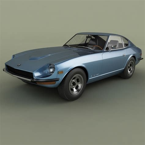 Datsun Models by 3d 1969 Datsun 240z Z Model Turbosquid 1213995