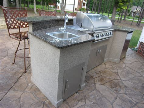 island for small kitchen ideas outdoor kitchen environments deco crete concrete
