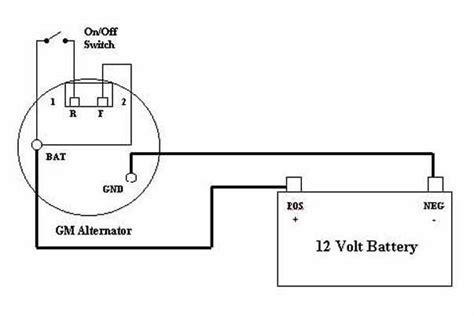 images   wire gm alternator wiring diagram
