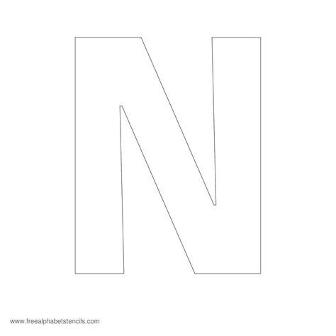 large alphabet stencil  fonts large alphabet stencils