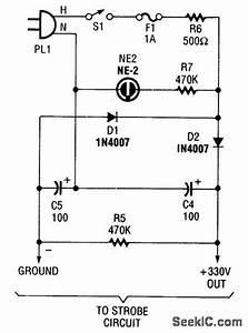 Strobe Power Supply Circuit Diagram World