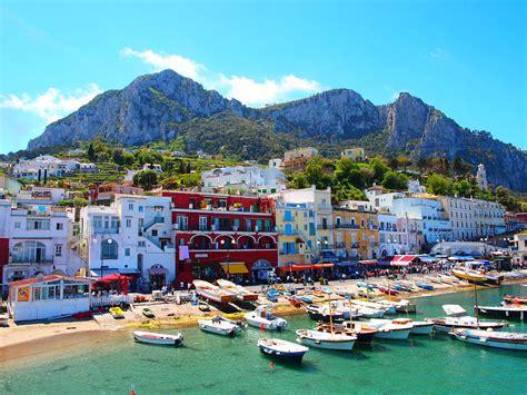 Capri Campania Region Italy Images N Detail