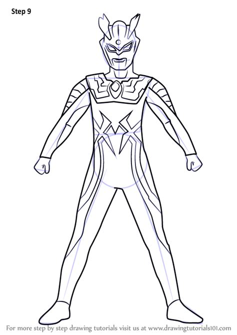 learn   draw ultraman  ultraman step  step drawing tutorials