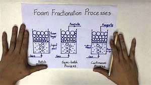 Continuous Foam Fractionation