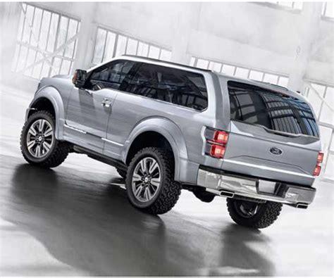 ford bronco svt price interior release date