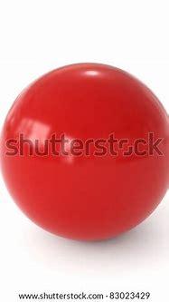 3d Red Ball Stock Photo 83023429 : Shutterstock