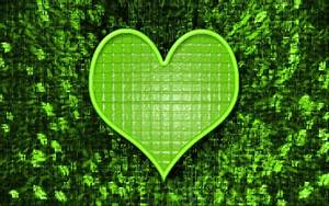Green Heart Wallpapers