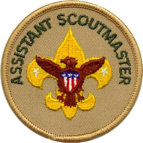 Cub Scout Committee Chair Patch Placement by Leaders Boy Scout Troop 146 Knoxville