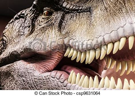 dinosaur mouths depicted