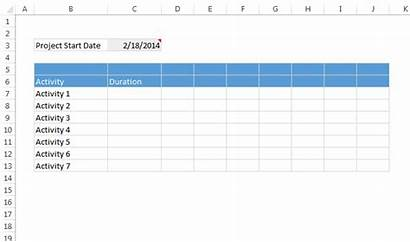 Gantt Chart Excel Easy Templates Quick Lawn