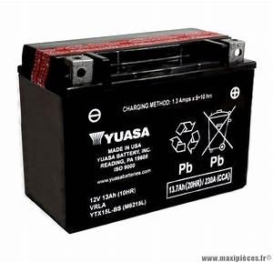 Peut On Recharger Une Batterie Sans Entretien : batterie 12v 13ah pour scooter yuasa allumage maxi pi ces 50 ~ Medecine-chirurgie-esthetiques.com Avis de Voitures