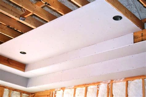 Installing A Ceiling by How To Install A Drywall Ceiling Pro Construction Guide
