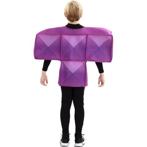 Disfraz Tetris Morado para Niños【Envío en 24h】