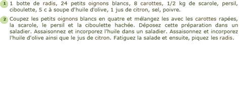 cuisiner du congre recette salade printanière facile et rapide