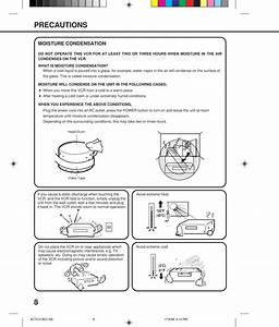 Orion Electric M4c7d Vcr User Manual Instruction Book