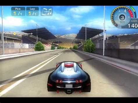 Try out the feeling of sitting in a car, which can develop a maximum speed of over 430 km per hour. Bugatti Veyron-GT Racing Ipod - YouTube