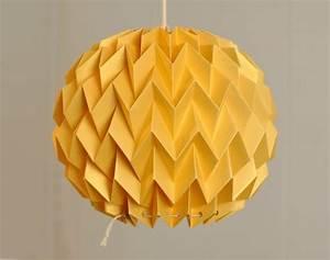 Abat Jour Origami : lampe origami l gante intemporelle et design ~ Teatrodelosmanantiales.com Idées de Décoration