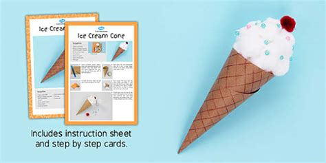 cone template twinkl ice cream cone craft instructions craft instruction