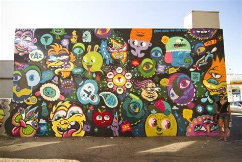 graffiti selection de peintures de bue  de