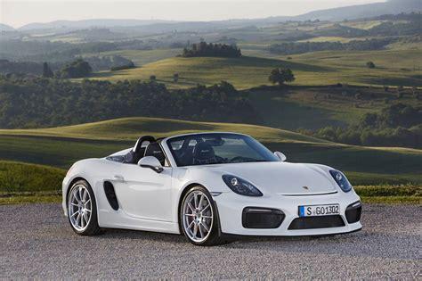 White Porsche Boxster Spyder Stuns In The Wild Gtspirit