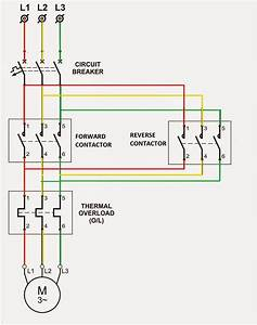 Wiring Diagram Of Forward And Reverse Starter
