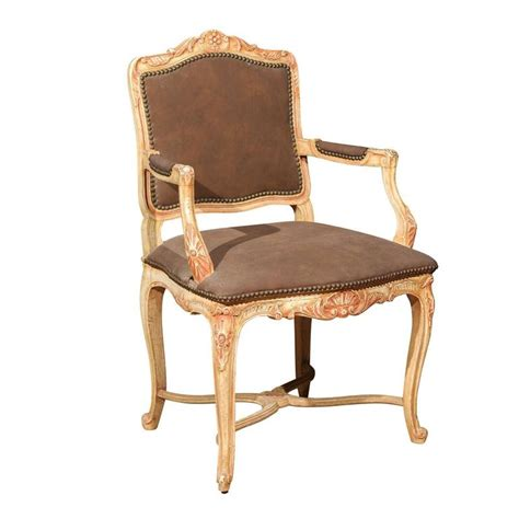 fauteuil style louis xv occasion louis xv style painted fauteuil for sale at 1stdibs