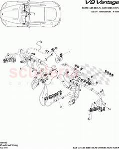 Aston Martin V8 Vantage Ip And Cowl Wiring Parts