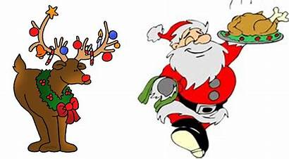 Christmas Clipart Dinner Meal Lunch Office Clip