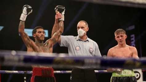 Conor Benn impresses by outfighting and outboxing ...