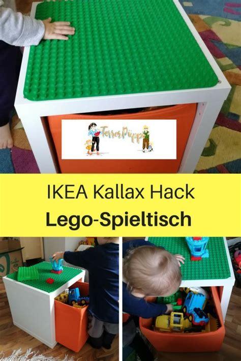 Ikea Hack Kinderzimmer Lego by Ikea Hack F 252 R Lego Duplo Spieltisch Kallax Kinderzimmer