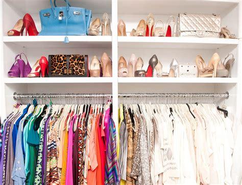 Colorful Closet by Color Organization Closets Pantrys