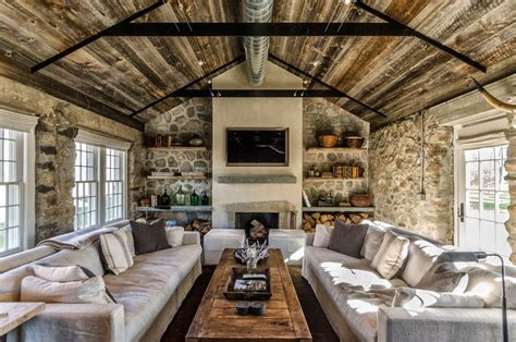 small country living room ideas rustic cottage in los angeles