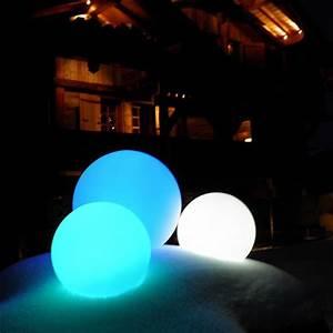 Boule Led Exterieur : boule lumineuse led filaire patio 65 deco lumineuse ~ Teatrodelosmanantiales.com Idées de Décoration