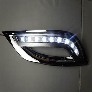 2011 Hyundai Sonata Light Bulb Number 2pcs White Led Daytime Running Fog Lights For Hyundai