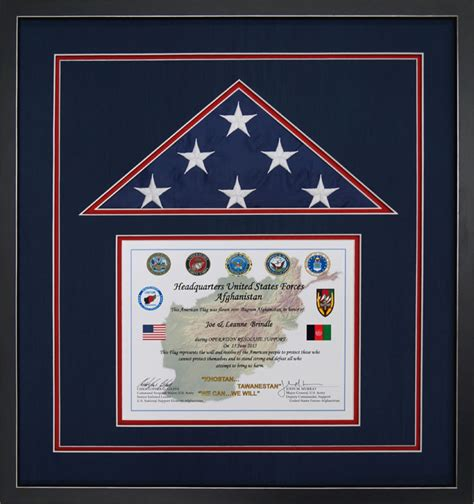 The flag of afghanistan shall be made up of three equal parts, with black, red and green colors juxtaposed from left to right vertically. Gallery - Custom Flag Display Case Examples - Framed Guidons