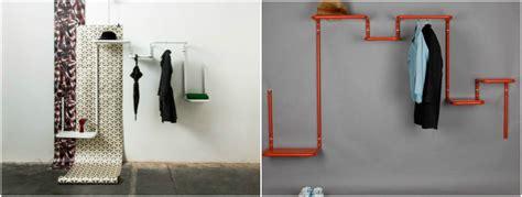 porte manteau mural industriel porte manteau design id 233 es pour am 233 nager un couloir classe